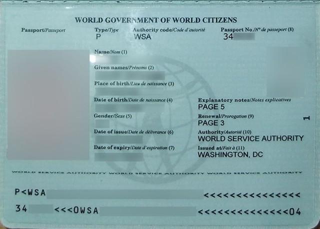 Паспорт внутри