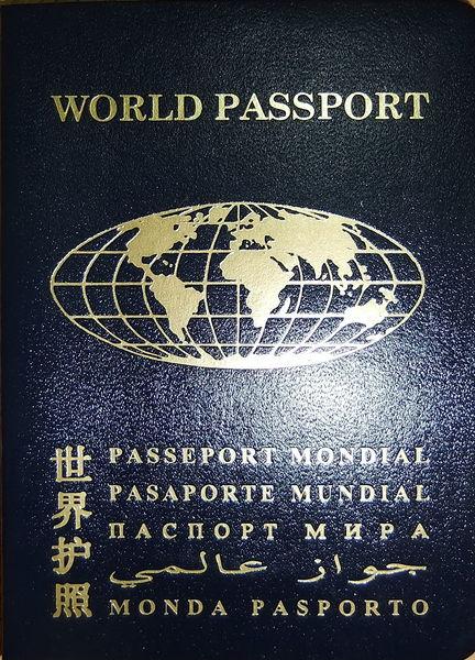 Паспорт снаружи