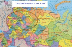 Средняя полоса РФ