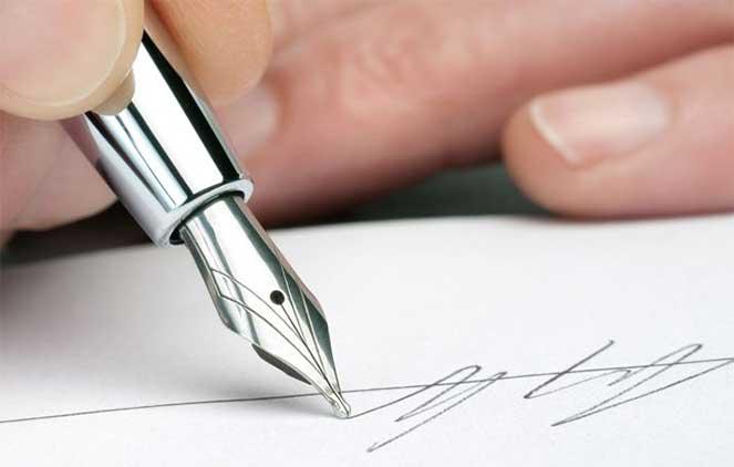 Подпись в документах