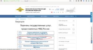 ГУВМ МВД России