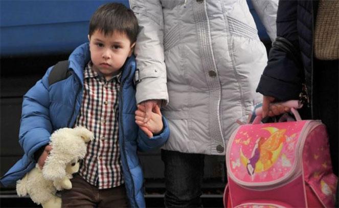 Беженцы в России