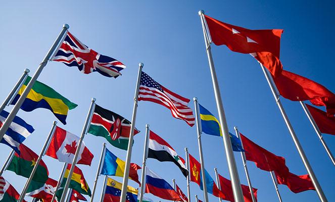 В международном праве