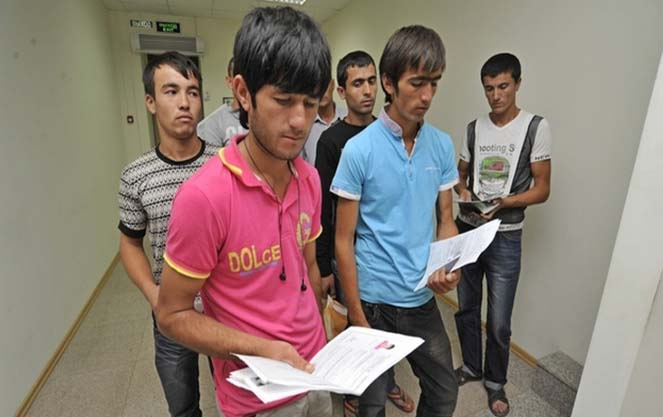 Миграционный учет в РФ граждан Таджикистана