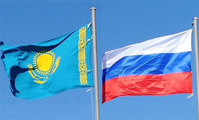 Россия с Казахстан