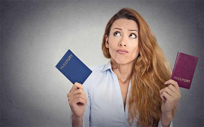Выбор гражданства