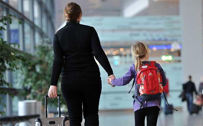 Поездка за границу с ребенком