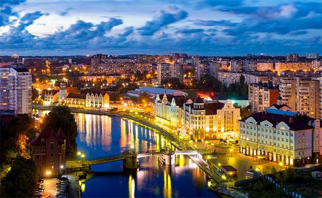 Загранпаспорт в Калининград