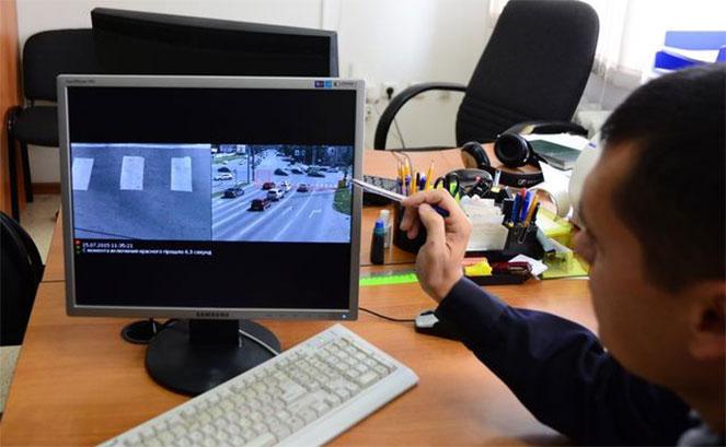 Камера для выявления правонарушителей на дороге