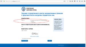 Сайт ФНС РФ