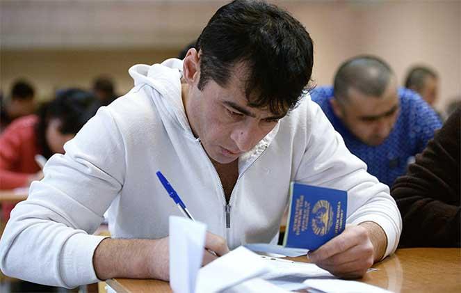 Оформление РВП для таджиков
