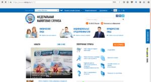 Фото 1. Поиск долгов на сайте ФНС РФ