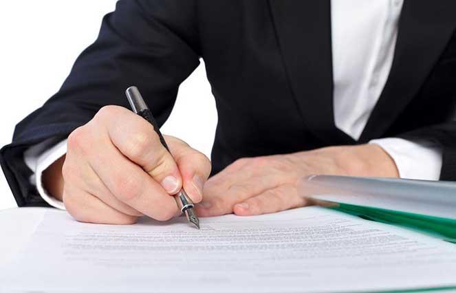 Оформить договор с иностранной компанией