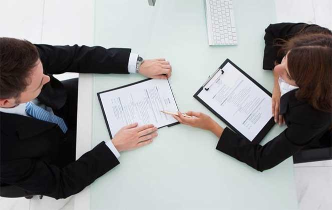 Заключение трудового договора