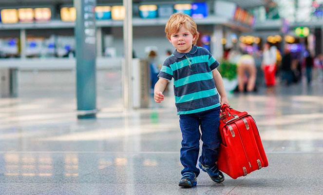 Путешествие за границу с ребенком