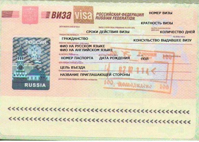 Нужна гостевая виза для въезда в Россию