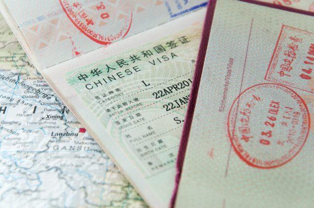 Разные визы для разных целей посещения Китая