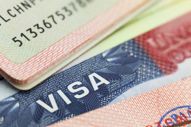 Необходимость визы для посещения Украины