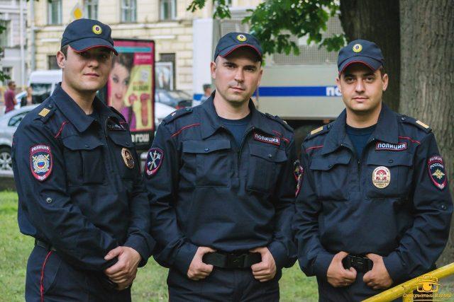 Работа полицейским