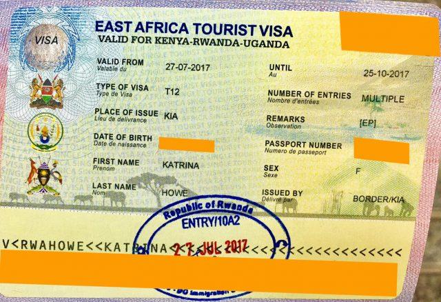 Туристическая виза в Кению