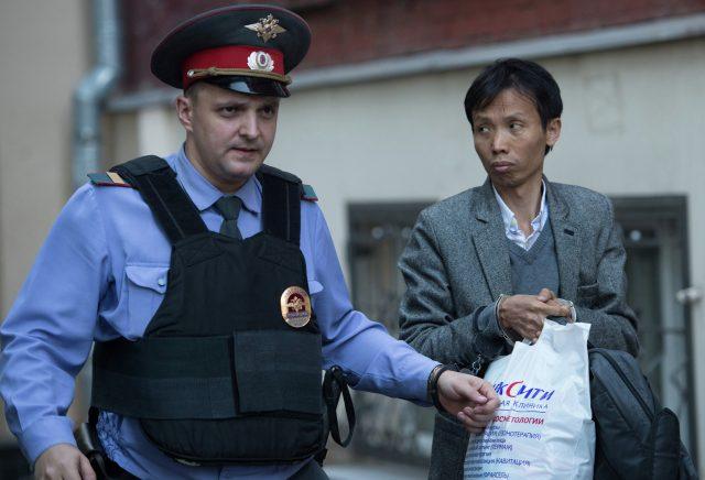 Нелегальные мигранты в Москве
